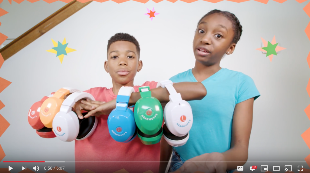 Kids Ear Muffs Unboxing